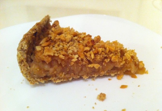 Almás-gyömbéres-zabpelyhes pite recept képpel. Hozzávalók és az elkészítés részletes leírása. Az almás-gyömbéres-zabpelyhes pite elkészítési ideje: 65 perc