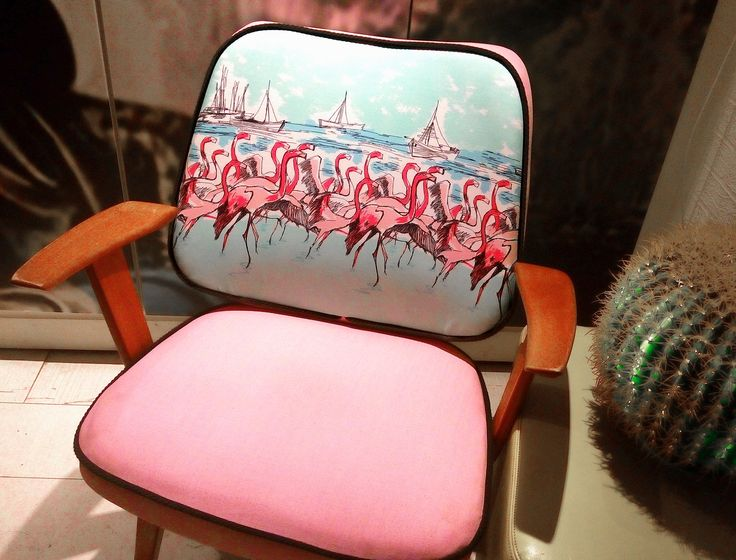 1950s Howard Keith Flamingo HK Cocktail Chair