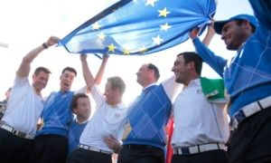The European Ryder Cup team.