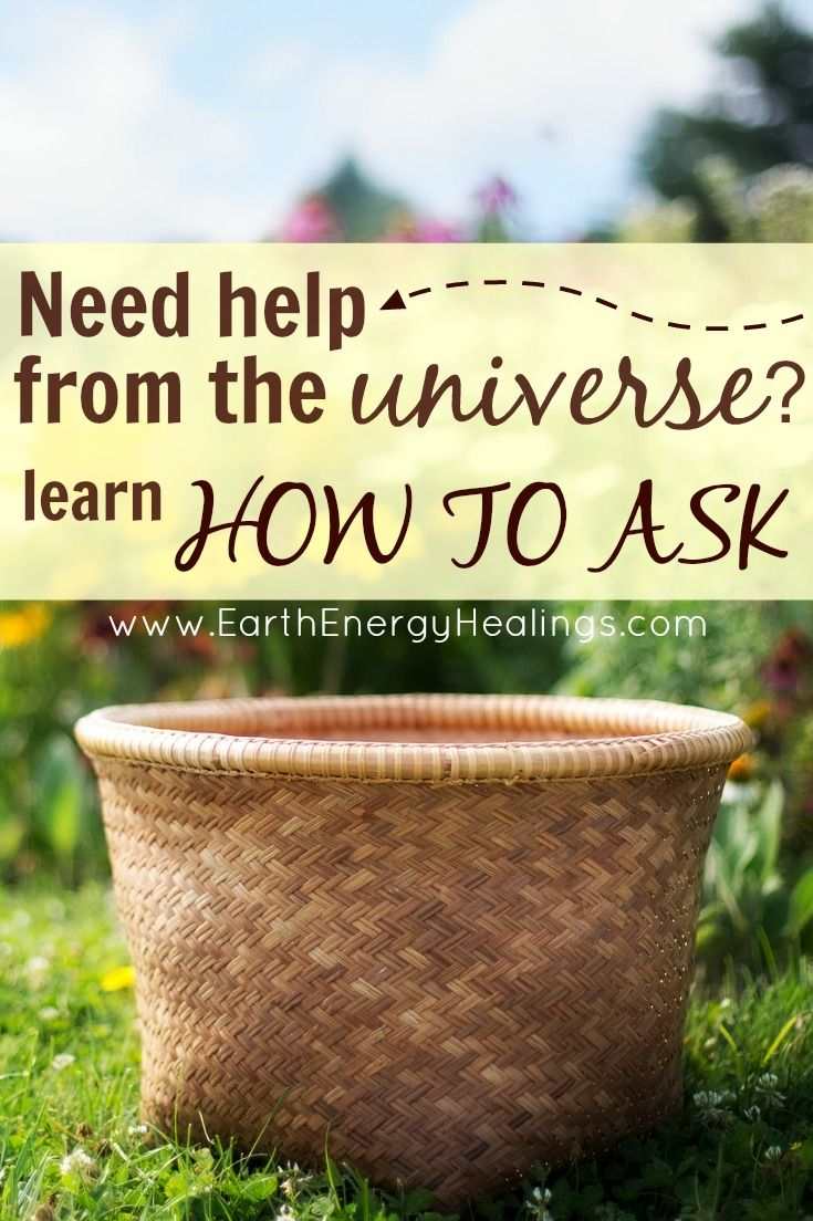 Learn how to ask the universe for the help you need - and actually get it! by Sarah Petruno, Shamana