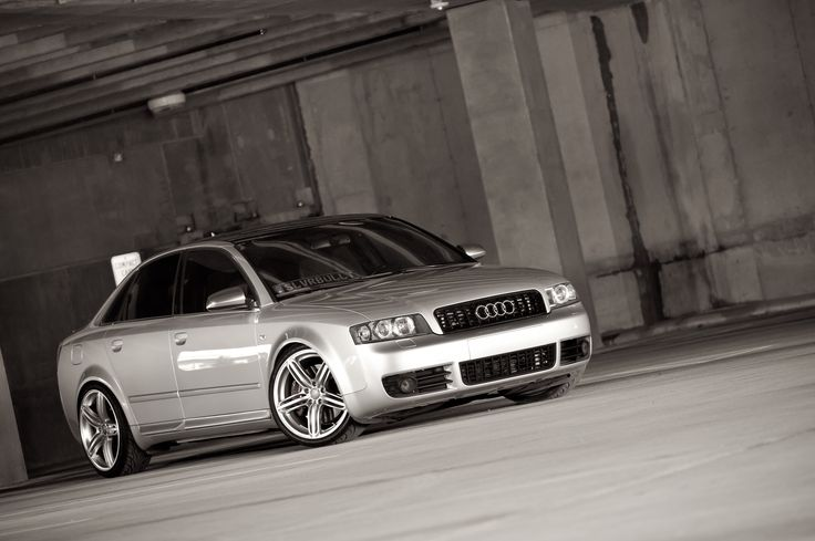 2005 Audi S4. H&R/Koni suspension.