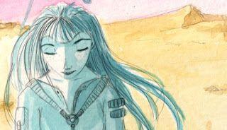 """Blog de Isabel Hierro: escritora e ilustradora.: Microrelato - """"La portadora"""" Energía eólica"""