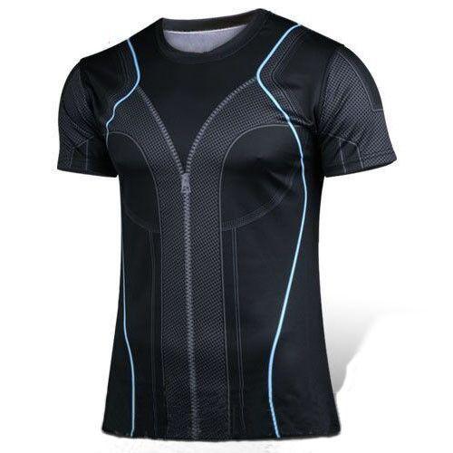 Superman/Batman/spiderman/captain America gym t shirt for men 3