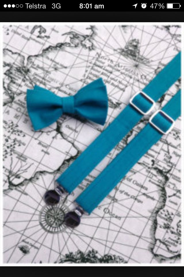 Page boy accessories :)