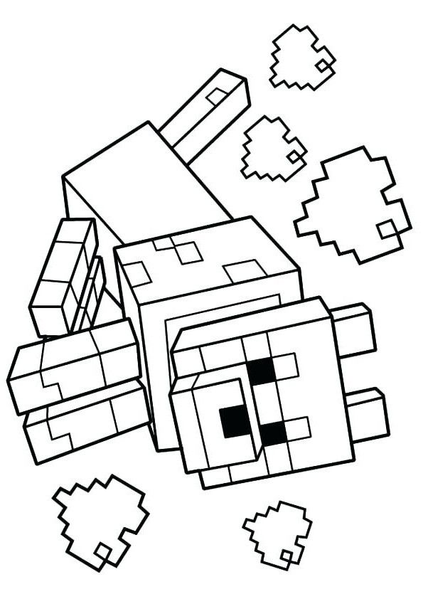 Stampy Cat Coloring Page Youngandtae Com In 2020 Cat Coloring Page Coloring Pages Minecraft Coloring Pages