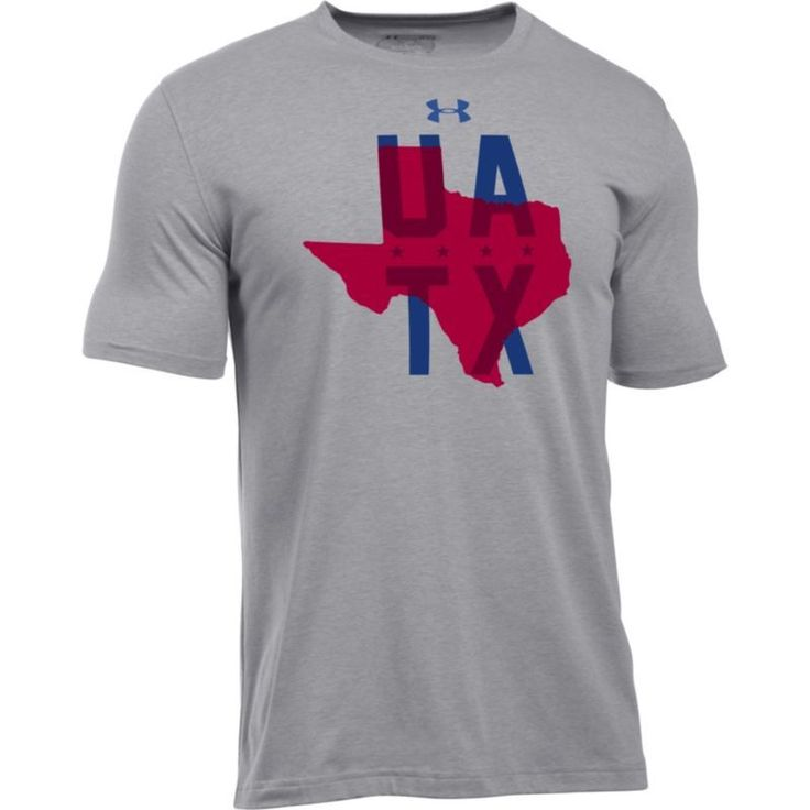 Under Armour Men's Local Texas T-Shirt, Size: Medium, Gray