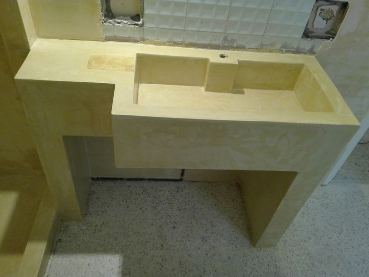 How to make a sink for your bathroom... 10