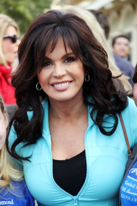 Marie Osmond With Makeup