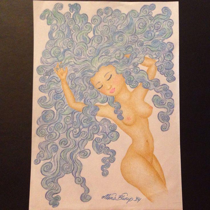 An element of beauty: Aqua.