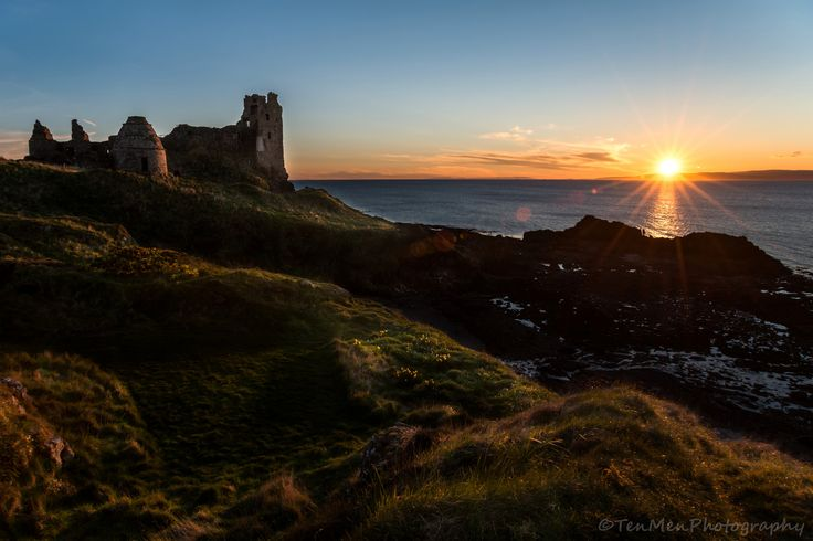 https://flic.kr/p/QsUUAn | Sunset over Dunure Castle | www.tenmenphotography.com     or please 'Like' my facebook page at www.facebook.com/tenmenphotography (happy to return the favour)     Also now on twitter @tenmenphoto