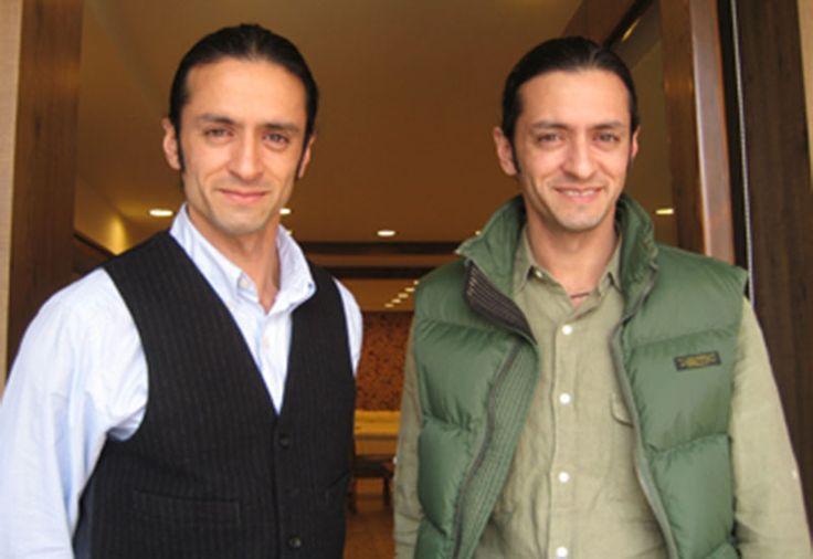 Brothers Mubashir and Muzakir