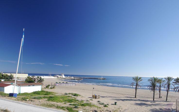 Beach in Cabopino, Marbella in Spain!