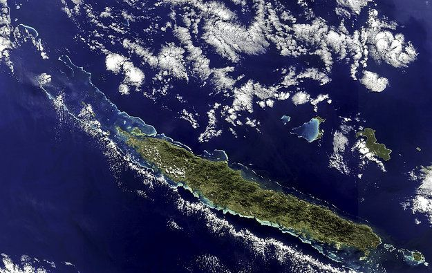 Earth From Space: New Caledonia