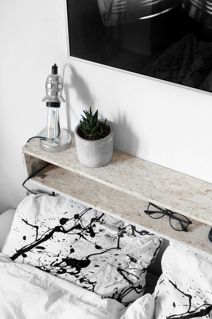 DIY svævende natbord / night stand || Katarina Natalie