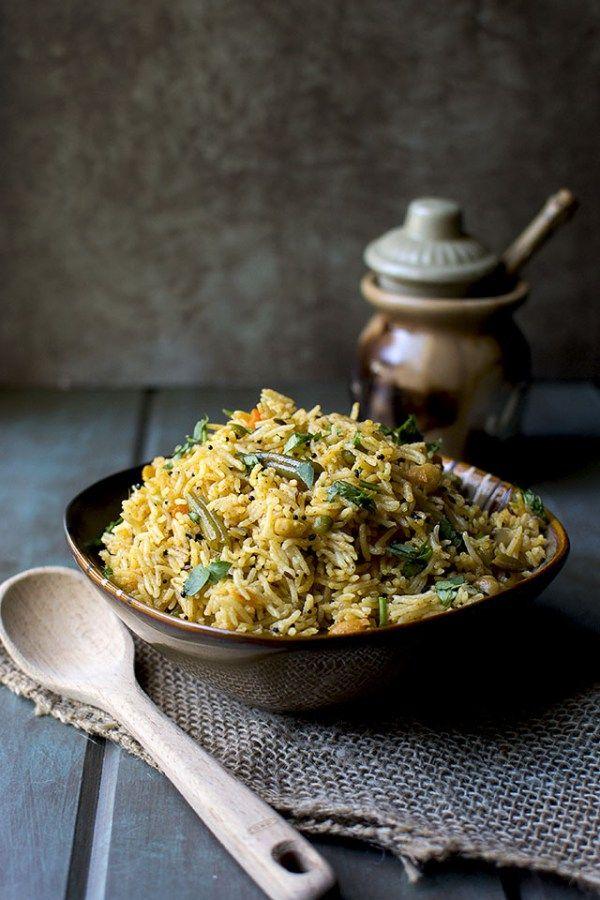 Achari Vegetable Pulao Recipe - Cook's Hideout