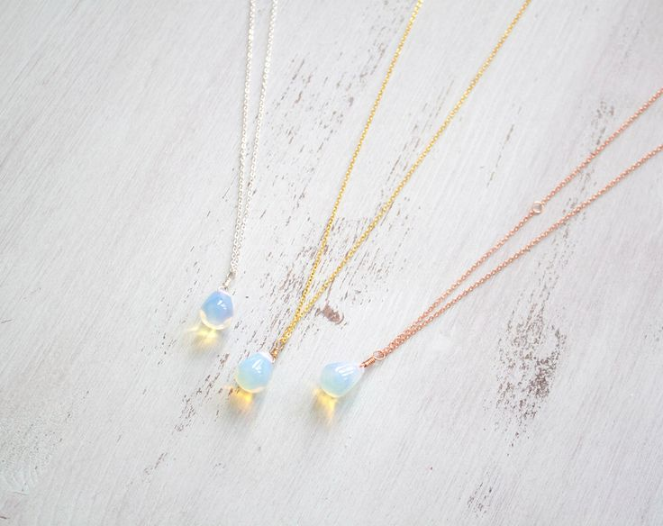 Bohemian Moonstone Teardrop Necklace - Mermaid Jewellery - Opalite Necklace - Opalite Teardrop Necklace - Moonstone Teardrop Pendant B1 by MoonTideJewellery on Etsy https://www.etsy.com/listing/210353980/bohemian-moonstone-teardrop-necklace