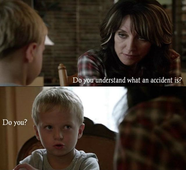Gemma gets owned by a little kid....Sons Of Anarchy #FinalRide