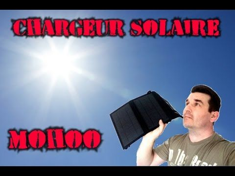 CHARGEUR TÉLÉPHONE SOLAIRE COMPATIBLE IPHONE , SAMSUNG - YouTube