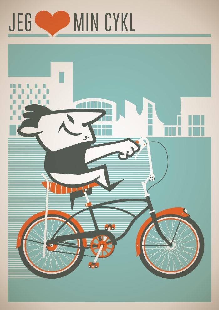 I <3 my bike! (Dansk)