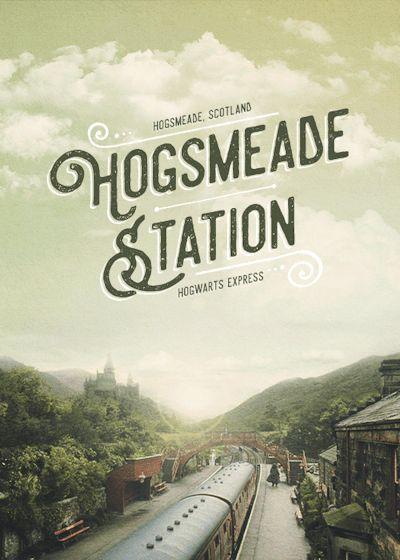 Hogsmeade Station - Harry Potter gif