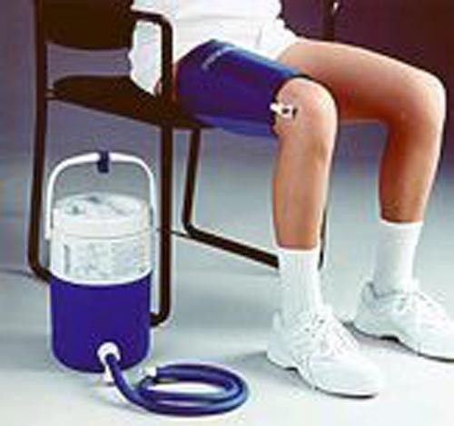 aircast cryo cuff knee system with cooler instructions