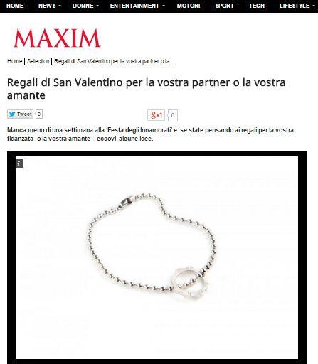 MAXIMITALY.COM FEBBRAIO 2015 - Bracciale time machine military in argento - Silver Military Bracelet   www.dextermilano.com @DEXTER Milano #timemachine #Bracciale #militare#colore #argento#gear #ingranaggio #gioielli #jewelry#military