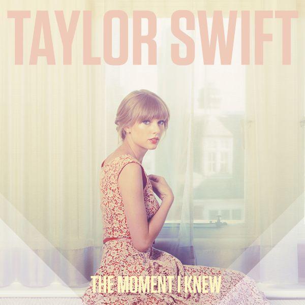The Moment I Knew - Taylor Swift (Lyrics) - YouTube