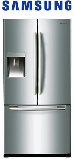 Fridges & Freezers : Samsung Twin Cooling Plus French Door Refrigerator (Rf67Desl1)