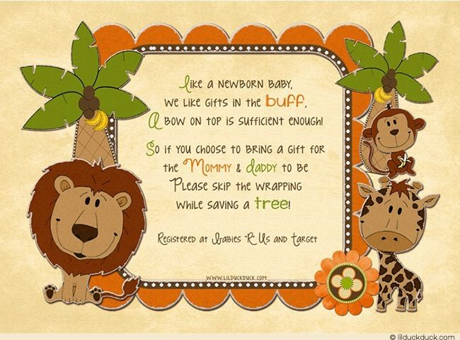 397a4732ea97 coed baby shower invitation wording unwrapped gifts - Google Search ...