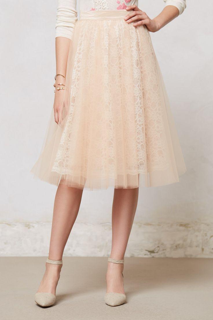 Gorgeous tulle skirt #anthropologie