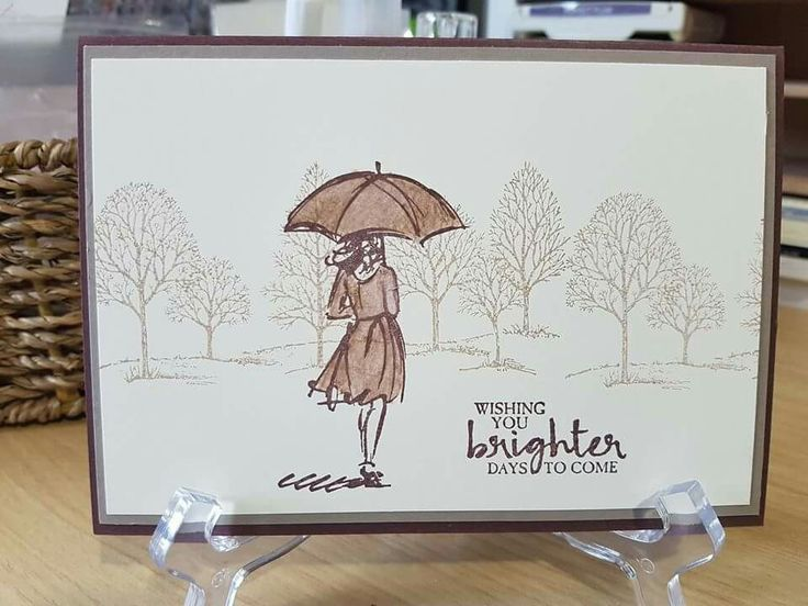 Stampin' Up! Beautiful you and Lovely as a Tree