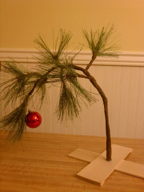 Picture of Charlie Brown's Christmas Tree