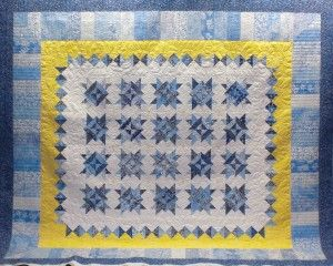64 best blue and yellow quilts images on Pinterest | Embroidery ... : blue and yellow quilt - Adamdwight.com