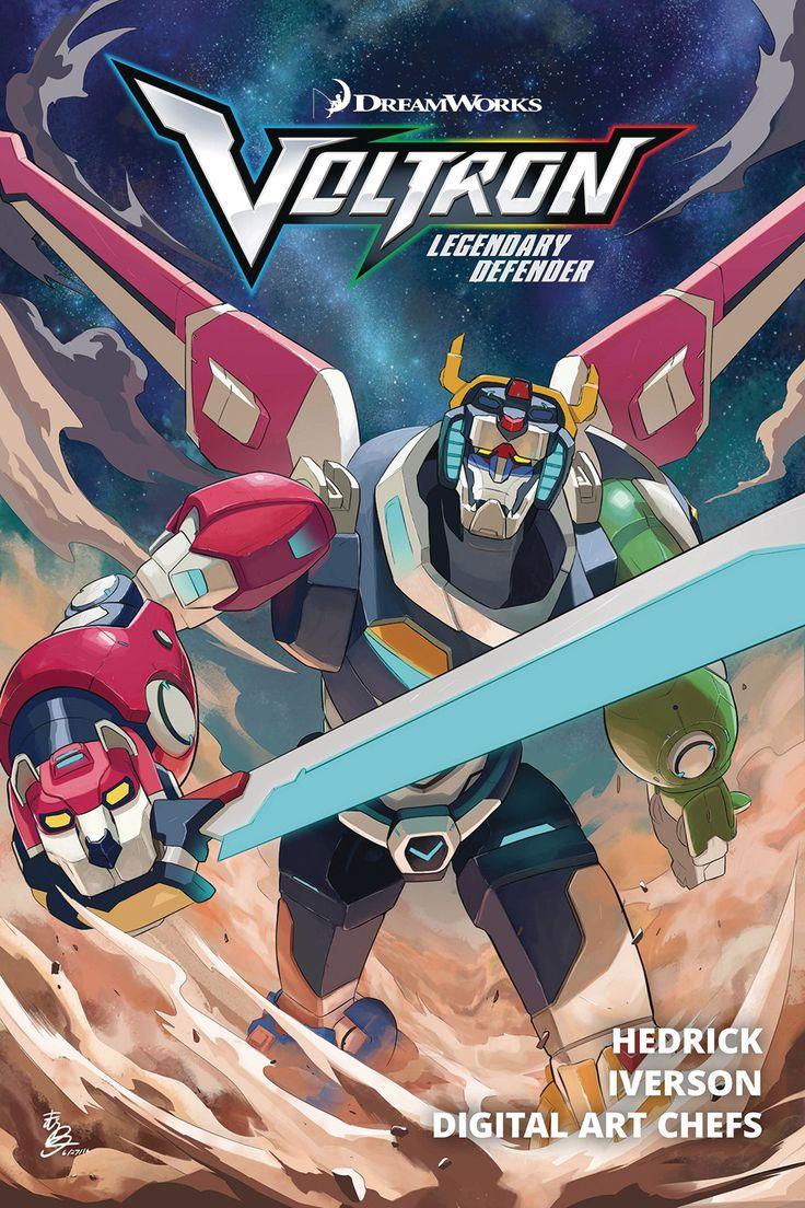 Voltron Legendary Defender (2016) Vol 01 TP