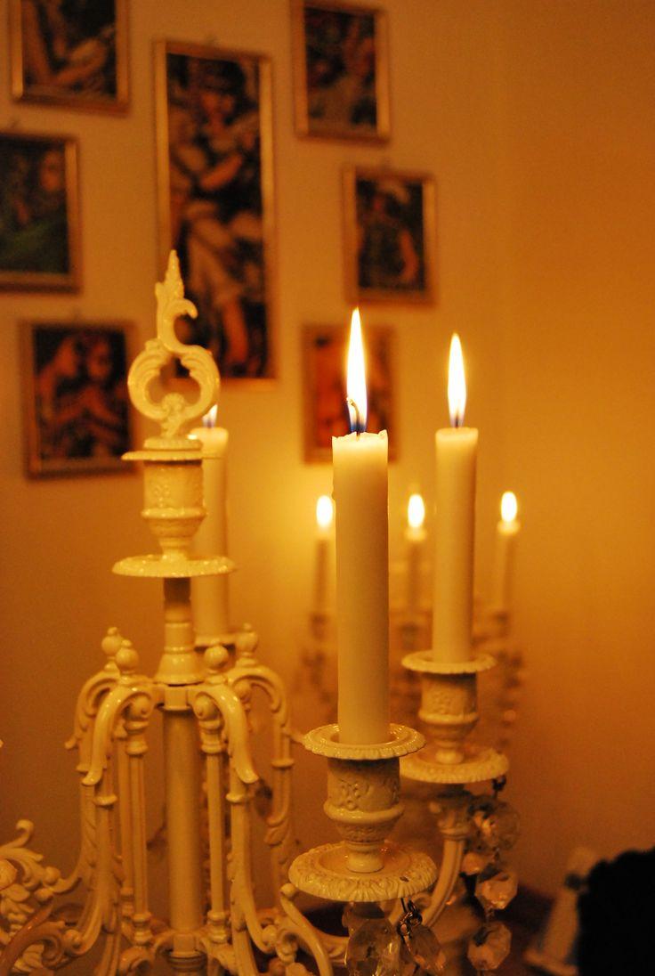 Candele e Tamara de Lempicka.. Candles and Tamara de Lempicka..