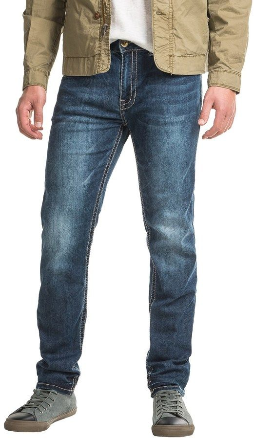 Seven7 Back Pocket Flap Stretch Jeans - Slim Fit (For Men)