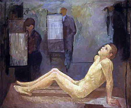 Mario Mafai - Il modello, 1933