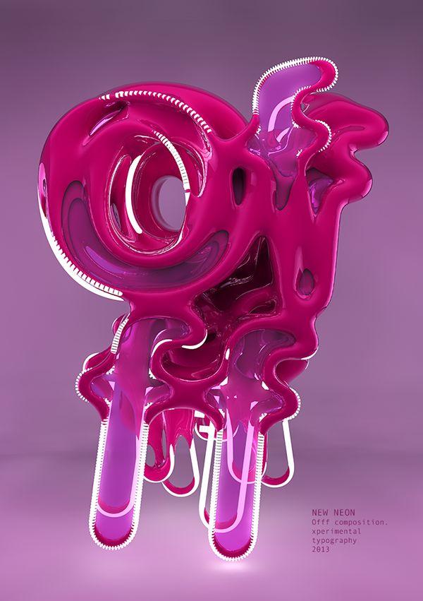 New Neon #typography #neon #design