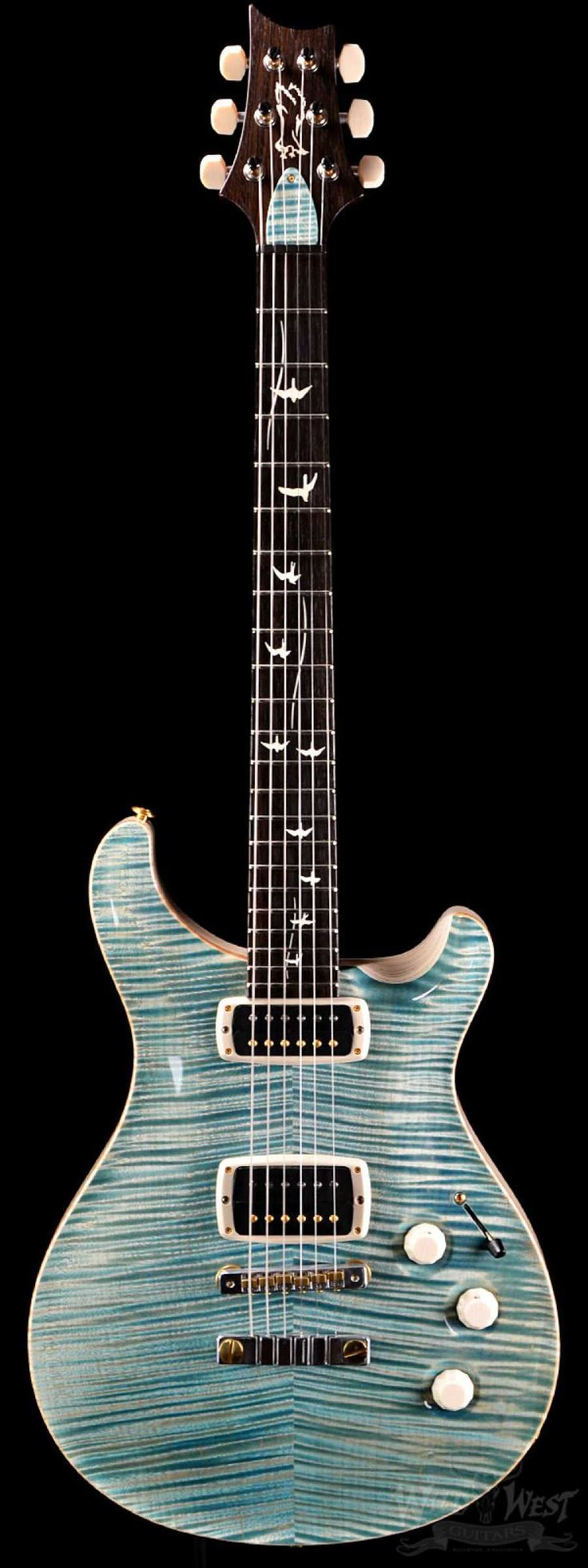 PRS Paul Reed Smith DC245 Private Stock 5122 Double Faded Turquoise - Preowned - Wild West Guitars https://wildwestguitars.com/electric/prs-paul-reed-smith-dc245-private-stock-5122-double-faded-turquoise