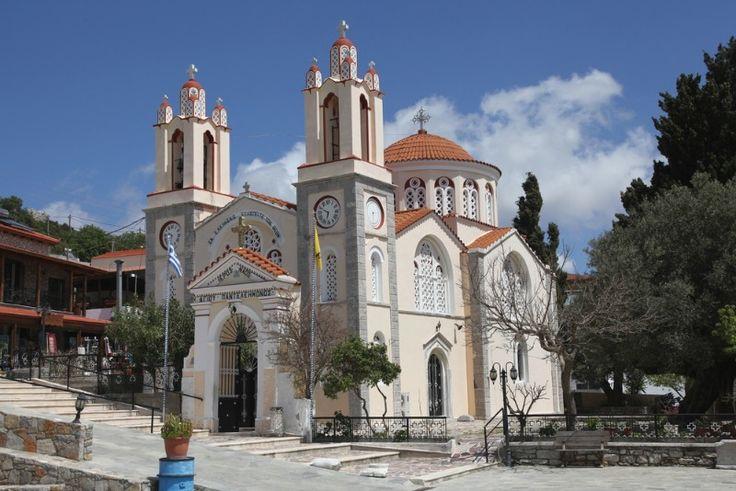St Panteleimon Church, Siana village (to 4.5 km from Monolithos), Rhodes, Greece
