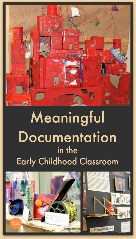Meaningful Documentation in the Early Childhood Classroom l Fairy Dust Teaching #documentation #earlychildhood