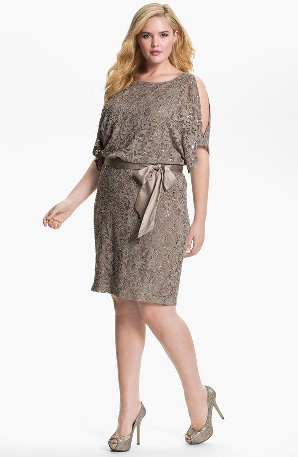 Коктейльные платья для полных (больших размеров) - фото, обзоры и отзывы 2015 года