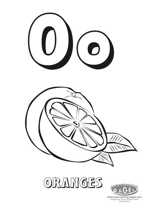 o is for octopus coloring pages - photo #44