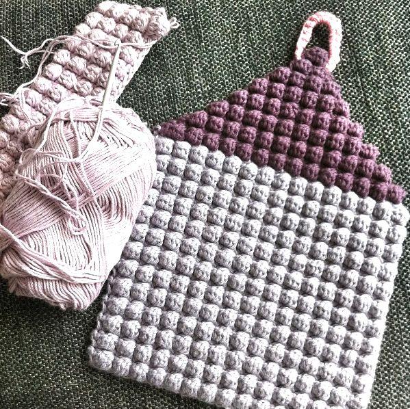 Et spændende mønster: Boble Stitch