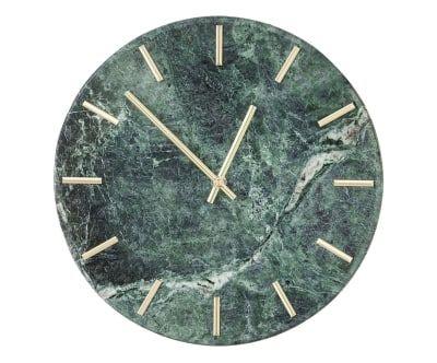 Orologio in marmo Desire verde