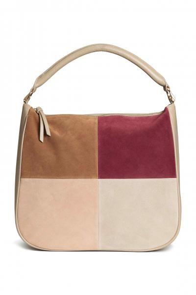 H&M Handbag With Suede Details xx