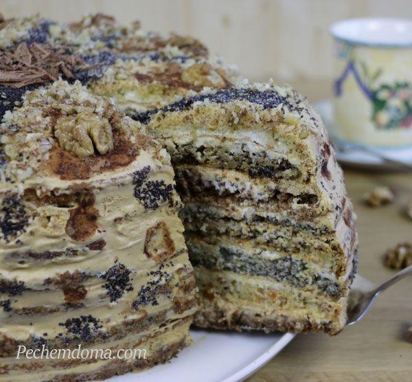 Торт «Дамский каприз» | Pechemdoma.com                                                                                                                                                                                 More
