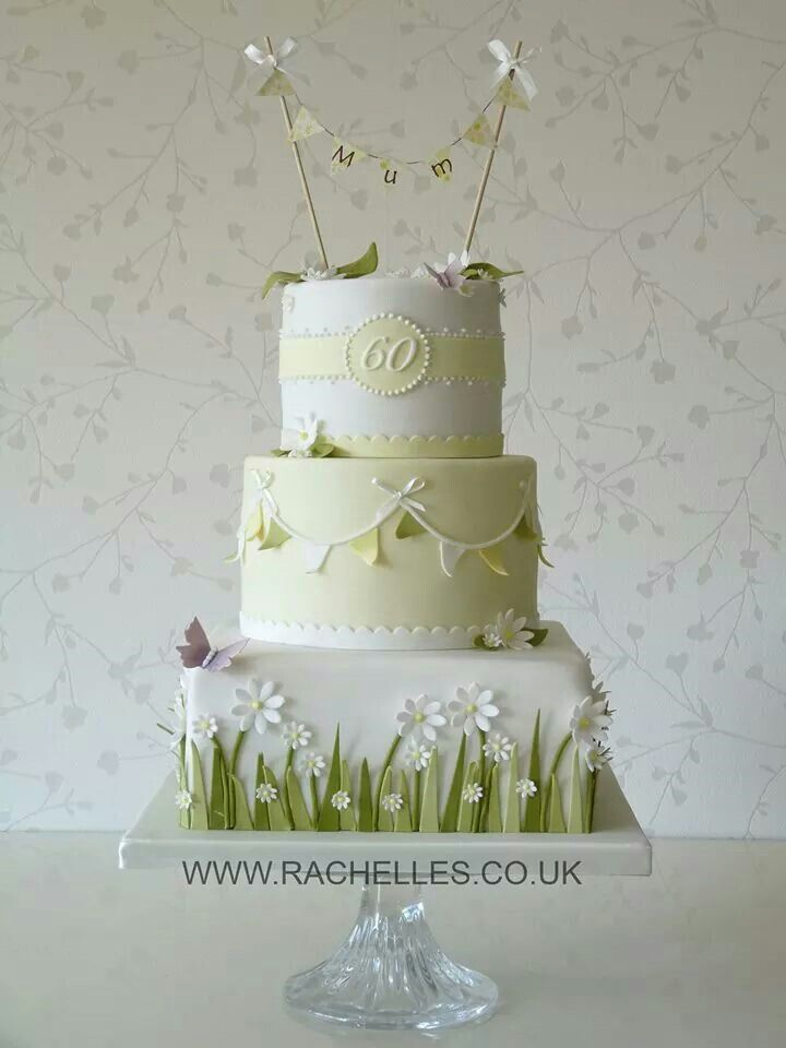 This cake says spring all over!