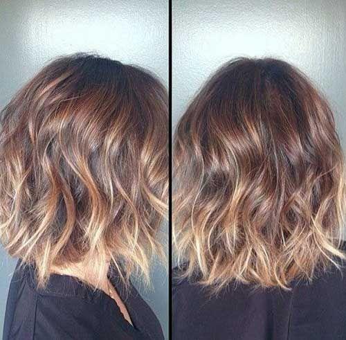 15  Loose Waves Short Hair