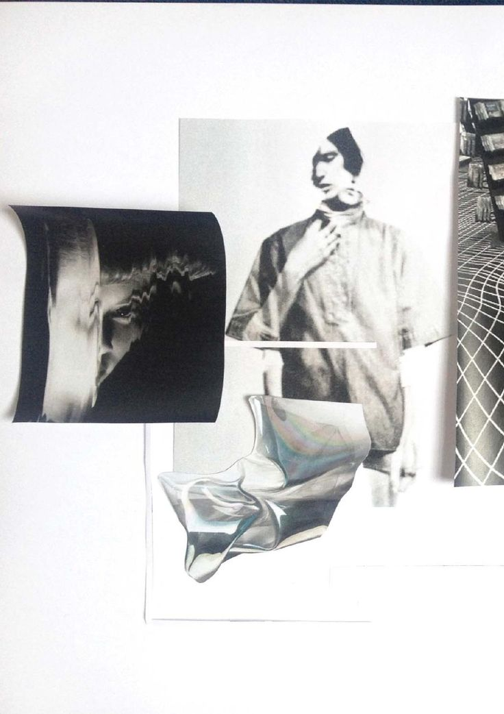 Fashion Moodboard - fashion design research & theme development; creative process // Amy Dee
